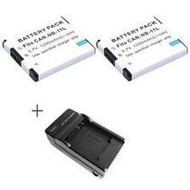 Kit 2x Baterias Nb11l + Carregador Canon Nb11lh Nb-11lh