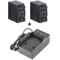 Kit 2 Baterias + Carregador Cgr-d54 D54 Panasonic Ag-hvx200