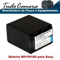 Bateria Np-fh100 P/ Sony Dcr- Sr70 Sr72 Sr75 Sr80 Sr82 Sr85