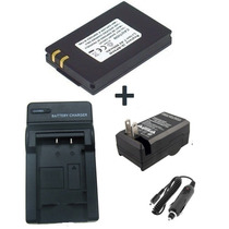 Kit Bateria Ia-bp80w + Carregador P Samsung Sc-d381 Sc-d382