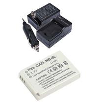 Kit Bateria Nb-5l + Carregador Câmera Canon Powershot Sx200