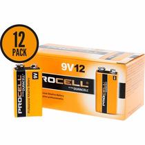Bateria Alcalina Duracell Procell 9v - 12 Pilhas 9 V Pilha