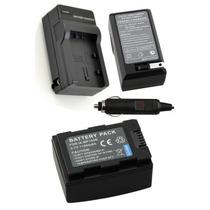Bateria Ia-bp105r + Carregador Para Samsung Hmx-f90 Hmx-f900
