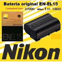 Nikon En-el15 Enel15 Orig. D600 D7000 D7100 D800 D800e V1