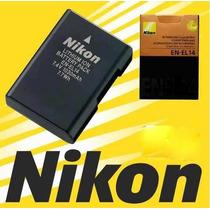 Bateria Nikon En-el14 Original D3100 D3200 D5100 D5200 P7000