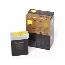 Bateria En-el14 P/ Nikon D3100 D3200 D3300 D5100 D5200 D5300