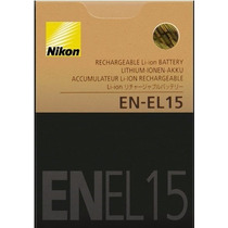 Bateria Nikon En-el15 Original D600 D800e D800 D7000 1 V1