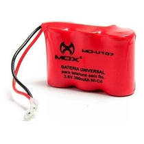 Bateria - Telefone Sem Fio 3.6v 300mah 3aa Universal Mo-u107