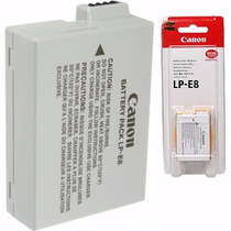 Bateria Canon Lp-e8 Original Lp E8 T4i T5i T6i Kiss X4 X5