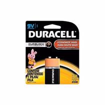 Bateria Alcalina Duralock Mni604bi 9v Pilha Un. - Duracell