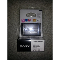 Bateria Lacrada Sony Np-fv100 P/ Sr68 Sr88 Xr550v