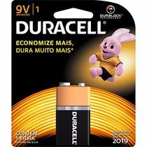 Bateria Pilha 9v Duracell Duralock Origianal