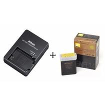 Carregador Nikon Mh-24 + Bateria En-el14 D5500, D5300, D5200