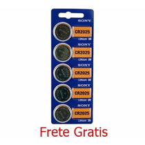 Bateria 3v Sony Cr2025 Frete Gratis