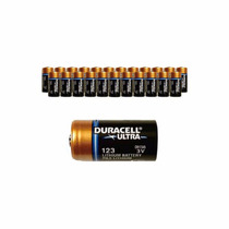 Bateria Duracell Ultra Dl 123 A 3v (cod 17345) - Pcte C/10