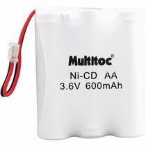 Bateria Recarregável Aa P/ Telefone S/ Fio P50 3,6v 600mah M