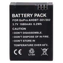 Bateria Gopro Go Pro Hero 3 Camera Hd Ahbt-301 Recarregável