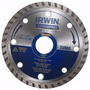 Disco Diamantado Turbo P/ Serra Circular 110mm X 20mm Irwin