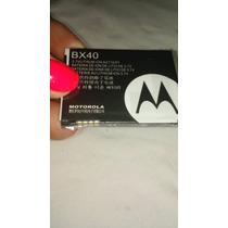 Bateria Celular Motorola Bx-40 V8 U9 V9 Zn5 Bx-40 L298pi