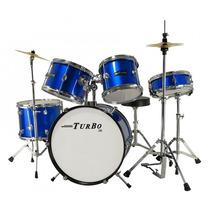 Bateria Infantil Turbo 4322 Deep Blues Studio Som João Loja!