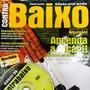 Video Aula Contrabaixo 4 Cordas Revista + Dvd Frete Grátis