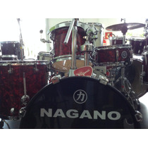 Bateria Nagano Concert Gig Red Wgmusicstore