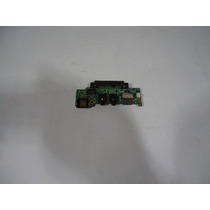Placa Filha Com Som E Usb Do Netbook Asus Eee Pc 1008