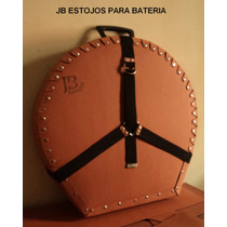 Case Prato 22 / Caixa Surdo Ton Bumbo Pedal Bateria / Estojo