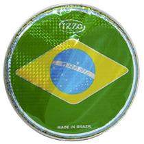 Pele Izzo Brasil Holográfica 10 Polegadas Pandeiro Percussão