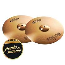 Pratos Orion Solo Pro Par De Chimbal Hi Hat 14 B8 L O J A