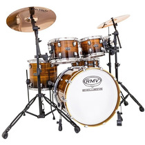 Bateria Rmv Exclusive Maple Custom 3 Tons Bumbo 20 Natural