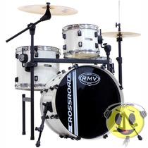 Bateria Rmv Crossroad Pro Jazz 1 Ton Rack E Pedal - Kadu Som
