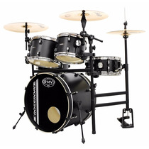 Bateria Rmv Cross Road Practical Com Rack Preta - Nfe