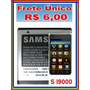 Bateria Samsung Gt-b7350 E2121 I9000 I9003 I9008 I9010 I9088