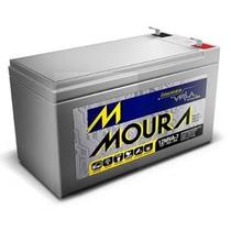 Bateria 12v 7ah Moura Selada P/ Alarme/no Break/cerca Elét