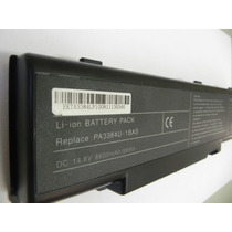 Bateria Toshiba Pa3384u Pa3382u Satelite A60 A65 6600mah