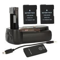 Bateria Grip Vertical Para Nikon D3100