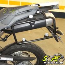 Suporte Bauletos Bau Laterais Motopoint Transalp 700 - Honda