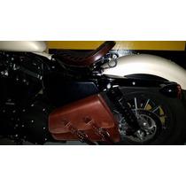 Alforge/ Saddlebag Solo Couro Harley Davidson Sportster