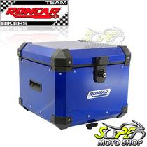 Bauleto Baú Traseiro Alumínio 35 Lts Tenere 660 Azul Yamaha