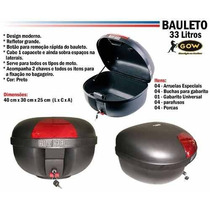 Bau Bauleto 33 Litros Marca Gow Envio 20% + Barato