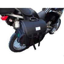 Kit Alforge Afastador Yamaha Tenere 250 Brinde Capas Alforje