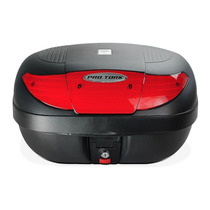 Baú Moto Bauleto Pro Tork Smart Box Preto 45 Litros