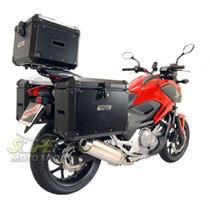 Kit Bauleto Traseiro + Lateral + Suporte Nc 700 / 750 X Pto