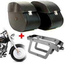 Kit Viagem Harley Davidson Fat Boy Alforge 32l + Afastador