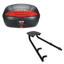 Kit Nc 700x 750x Bauleto Givi E450n + Suporte Bagageiro Scam