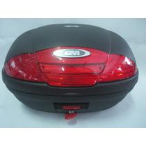 Baú Bauleto Givi E450 Monolock Simply 45l Litros 2 Capacetes