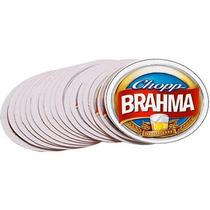 Conjunto Com 24 Bolachas / Apoio Copo Chopp Cerveja Brahma