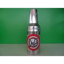 Porta Garrafa De Cerveja 600 Ml Em Alumínio + Isopor