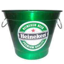 Balde Para Gelo Em Aluminio Cerveja Heineken Skol Brahma